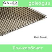 Сотовый поликарбонат POLYGAL (Полигаль) толщ. 20 мм бронза фото