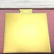 Подложка кондитерская мини, квадрат 1 шт. фото