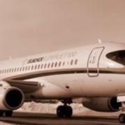 Sukhoi Superjet 100 RRJ 95B фото