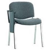 Аренда, прокат конференционных стульев ISO с планшеткой (откидным столиком для записей, пюпитром) фото