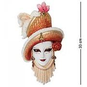 Венецианская маска Леди в шляпе фото