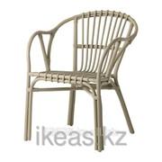 Кресло серый ХОЛЬМСЕЛЬ фото