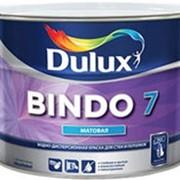 Dulux Bindo 7, матовая краска для стен и потолков BW, 1 л. фото