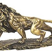 Символ власти и мужества / Статуэтка Лев 47х26х15см. арт.MK1005 фото