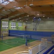 Комплексное оснащение спортивным оборудованием залов, стадионов в учебных учреждениях от производителя фото