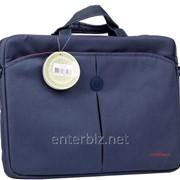 """Сумка для ноутбука Continent CC-01 Blue 15,6"""" фото"""