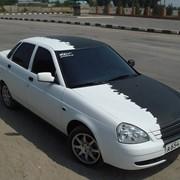 Виниловый стайлинг автомобиля фото