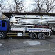 Подача бетона бетононасосом Киев фото