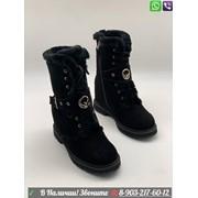 Ботинки Fendi замшевые зимние фото
