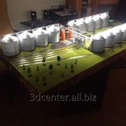 Создание миниатюр зданий, макеты конструкций фото