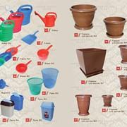 Пластиковые изделия для дома и сада фото