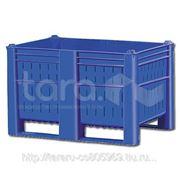 Пластиковый контейнер (Box Pallet,БигБокс,Ёмкость) 1200х800х740 фото