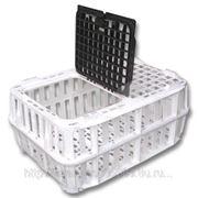 Ящик пластиковый для перевозки живой птицы фото