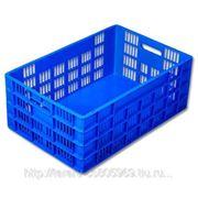 Ящик пластиковый арт. 0107 фото