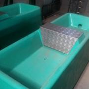 Поилки бетонные для КРС фото
