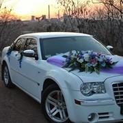 Заказать свадебное авто, аренда свадебного авто, прокат авто, Крайслер 300 С в Киеве фото