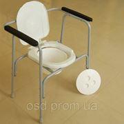 Стул туалет для инвалидов Модель  фото