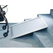 Пандус для инвалидных колясок алюминиевый  фото