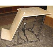 Приспособления для инвалидов. Вертикализатор ортопедический с домкратом ВО-2, реабилитация фото