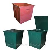 Мусорные баки, контейнеры для ТБО фото