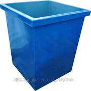 Металлический контейнер для мусора фото