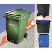 Пластиковый контейнер для ТБО 360Л фото