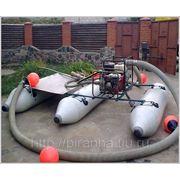Ручные мини земснаряды Piranha для очистки пруда и углубления дна (экономверсия) фото