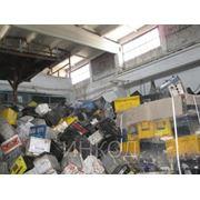 Утилизация отработанных свинцовых аккумуляторов фото