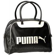 Сумка Puma Campus Grip Bag черный X фото