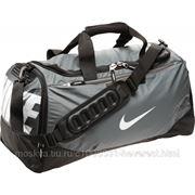 Сумка Nike TEAM TRAIN MAX AIR MED DUFFEL BA4513 серый,черный,белый one size фото