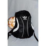 Спортивный рюкзак Adidas R-1. (черный + белый) фото