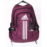 Рюкзак Adidas сливовый 16х42х30 BK702-703-20181plum /0-521 фото
