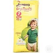 Трусики Libero Dry Pants 7 (16-26 кг) 28 шт. фото
