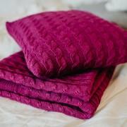 Вязаное постельное белье фото
