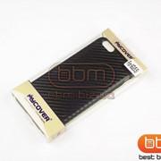 Накладка iPhone 6 Plus MYCOVER (карбоновая силикон) черный 76170a фото
