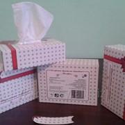 Салфетки бумажные в коробке Бант фото