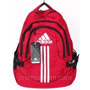 Рюкзак Adidas красный 16х42х30 BK702-703-20181red /0-521 фото