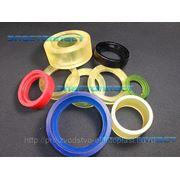 Полиуретановые ролики, манжеты, шины, кольца. фото