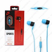 Внутриканальные наушники Nike HS-56 Blue (Синий) фото