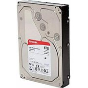 "Жесткий диск HDD Toshiba X300 SATA3 6Tb 3.5"" 7200 128Mb (HDWE160UZSVA) фото"