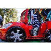 Детская качалка «Red Sports Car» фото