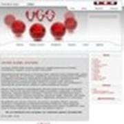 Сайт компании Upiter Global Systems фото