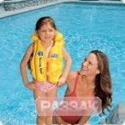 Жилет *Люкс* желтый 49х46 см, от 3 до 6 лет фото