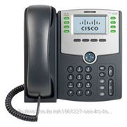 Linksys SPA508G Телефон VoiceIP 8xLine, 2xLan 10/100, LCD, PoE, без бп фото