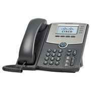 Linksys SPA514G Телефон VoiceIP 4xLine, 1xLan 10/100/1000, LCD, PoE, без бп фото