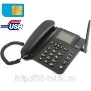Стационарный GSM телефон + встроенный аккумулятор фото