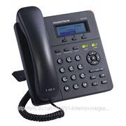 Телефон Grandstream GXP1400, 1-line, 2x10Base-T, поддержка HD-audio, SIP, БП фото