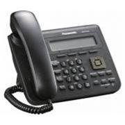 IP-телефон Panasonic KX-UT123, черный фото