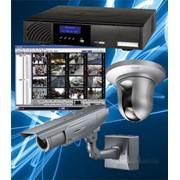 Монтаж систем видеонаблюдения и охранной сигнализации фото