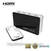 3X1 Syvio HDMI мини коммутатор с ДУ фото